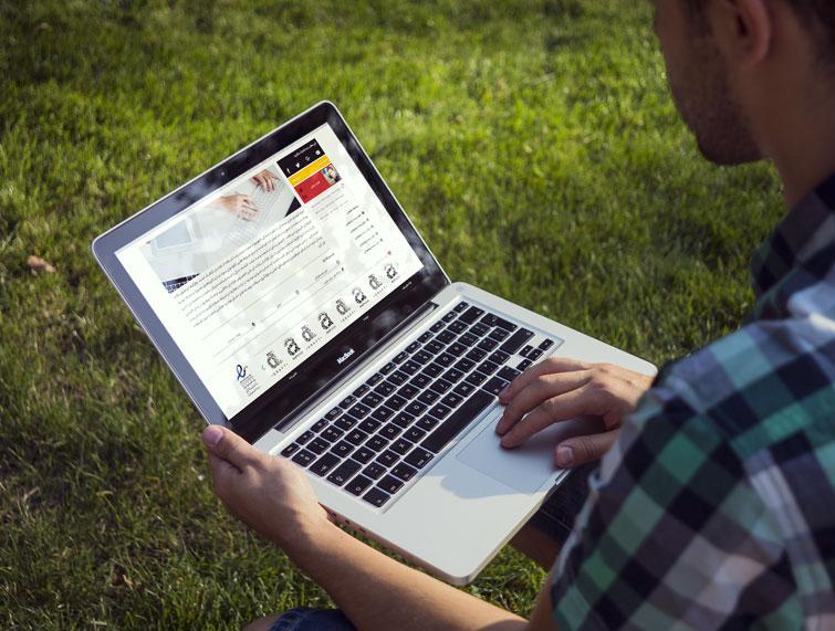 طراحی وبسایت میکروتیکفا