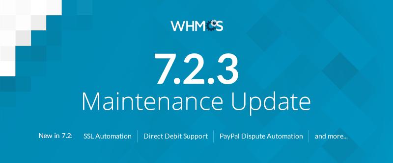 whmcs 7.2.3