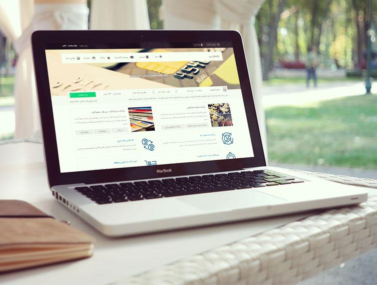 طراحی وبسایت پارسیان پی
